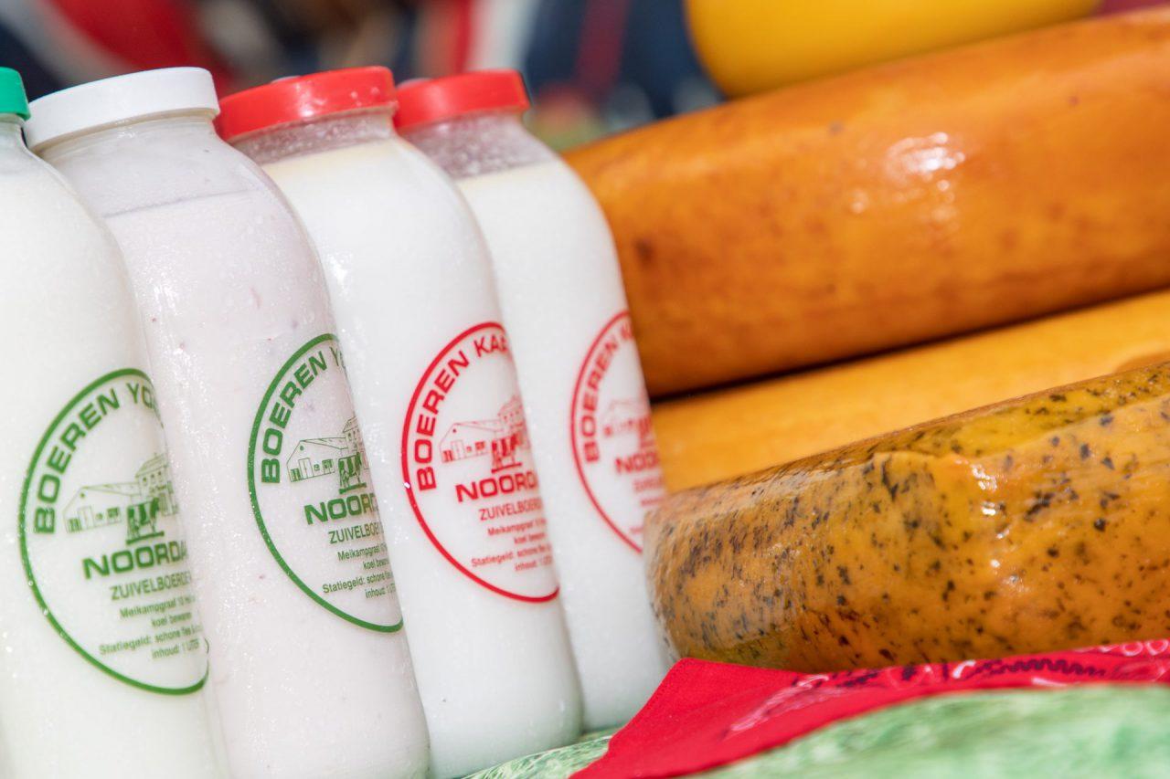 Zuivel en kaas van zuivelboerderij Noordam