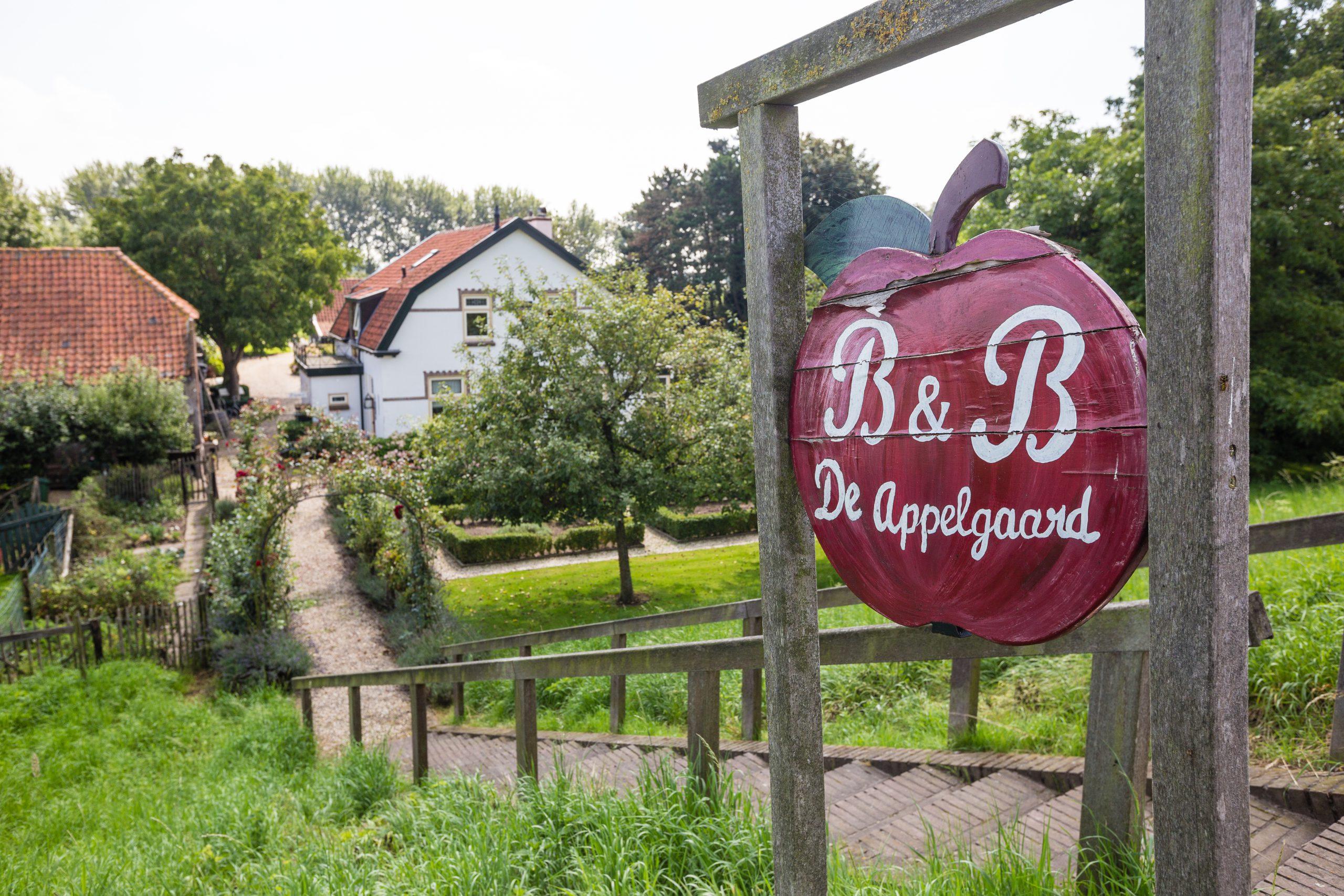 uithangbord b&b de appelgaard