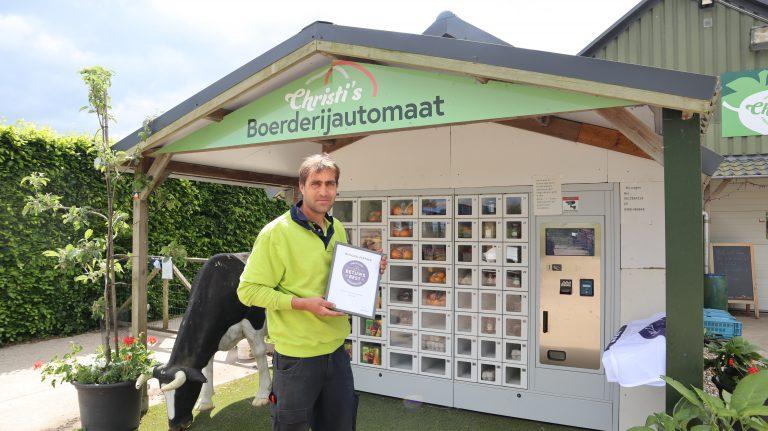 Christi's Boerderijwinkel ontvangt certificaat Betuws Best